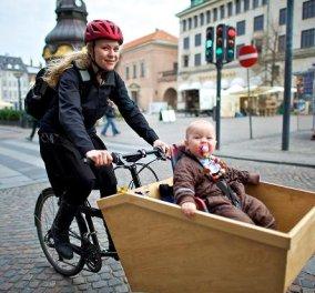 Good news για την Κοπεγχάγη: Τα ποδήλατα είναι πλέον περισσότερα από τα αυτοκίνητα!  - Κυρίως Φωτογραφία - Gallery - Video