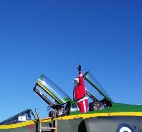 Good news: Με… Phantom προσγειώθηκε στη Λάρισα ο Άγιος Βασίλης - Κυρίως Φωτογραφία - Gallery - Video
