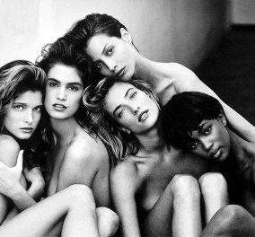 Linda Evangelista, Naomi Campbell, Cindy Crawford:  Όταν Α' list μοντέλα χόρευαν αισθησιακά το ''Freedom'' του G. Michael - Κυρίως Φωτογραφία - Gallery - Video