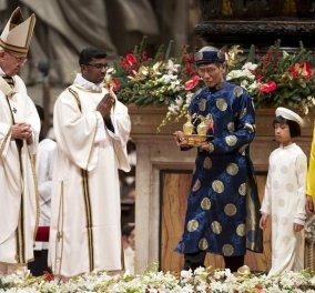 Φωτό - βίντεο- Πάπας Φραγκίσκος: Ο υλισμός κλείνει τα μάτια απέναντι στις ανάγκες των πεινασμένων - Κυρίως Φωτογραφία - Gallery - Video