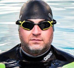 38χρονος Βρετανός προσπαθεί να διασχίσει κολυμπώντας τον Ατλαντικό - Αλλά είναι πολύ πιο δύσκολο από όσο υπολόγιζε....  - Κυρίως Φωτογραφία - Gallery - Video