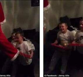 Συγκινητικό βίντεο: Μπαμπάς επιστρέφει από το στρατό & κάνει έκπληξη στα μικρά του ντυμένος Άγιος Βασίλης - Κυρίως Φωτογραφία - Gallery - Video