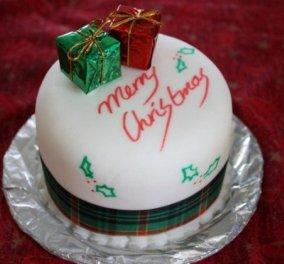 Ho ho ho: Φανταστικά Χριστουγεννιάτικα κέικ & τούρτες: Χαρούμενοι Άι Βασίληδες & ζαχαρωτά δεντράκια για τη μαγεία των ημερών!  - Κυρίως Φωτογραφία - Gallery - Video