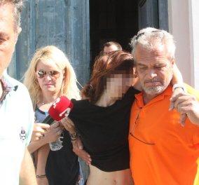 """Ισόβια επιβλήθηκε στη """"μαύρη χήρα"""" της Αργολίδας - Η ίδια δεν ήταν παρούσα στην αναγγελία της ποινής της - Κυρίως Φωτογραφία - Gallery - Video"""