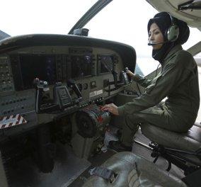 Top Woman η 26χρονη Σάφια Φερόζι: Η Αφγανή που από πρόσφυγας έγινε πιλότος των Ενόπλων Δυνάμεων και πολεμά το ISIS - Κυρίως Φωτογραφία - Gallery - Video