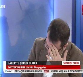 Φοβερό βίντεο: Σε κλάματα ξεσπά Τούρκος παρουσιαστής ειδήσεων βλέποντας μωράκι να χειρουργείται χωρίς αναισθητικό! - Κυρίως Φωτογραφία - Gallery - Video