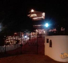Good News:Ο πιο grande στολισμός των Χριστουγέννων- Αυτό το σπίτι στην Θεσσαλονίκη του έδωσε και κατάλαβε - Κυρίως Φωτογραφία - Gallery - Video