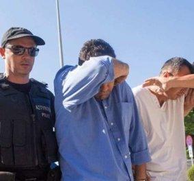 Απόφαση Συμβουλίου Εφετών: Δεν εκδίδονται οι δύο τελευταίοι Tούρκοι αξιωματικοί - Κυρίως Φωτογραφία - Gallery - Video