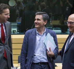 Το Eurogroup αποφάσισε μέτρα που οδηγούν στη μείωση του χρέους κατά 20%  - Νέος κόφτης &  μέτρα όμως από το 2018  - Κυρίως Φωτογραφία - Gallery - Video