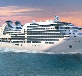 Seabourn Encore: Tο κρουαζιερόπλοιο–παλάτι έκανε το παρθενικό του ταξίδι με πρώτο λιμάνι τον Πειραιά (βίντεο) - Κυρίως Φωτογραφία - Gallery - Video