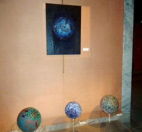 Eγκαινιάστηκε η έκθεση του Κώστα Ευαγγελάτου στο Μουσείο της Πόλεως των Αθηνών  - Κυρίως Φωτογραφία - Gallery - Video