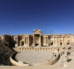 Σοκ από τη νέα βαρβαρότητα του ISIS: Ανατίναξαν το Τετράπυλον και το ρωμαϊκό θέατρο της Παλμύρας  - Κυρίως Φωτογραφία - Gallery - Video