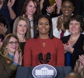 Το συγκινητικό αντίο της Μισέλ Ομπάμα στους Αμερικανούς: «Η θαυμάσια διαφορετικότητά μας μάς έκανε αυτό που είμαστε» (βίντεο) - Κυρίως Φωτογραφία - Gallery - Video