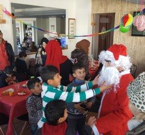 Good news: Οι οδηγοί ταξί της Ρόδου μοίρασαν δώρα και χαρά στα προσφυγόπουλα  - Κυρίως Φωτογραφία - Gallery - Video