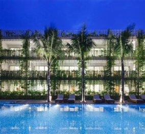 Το πιο πράσινο ξενοδοχείο στον κόσμο ! Κρεμαστοί κήποι κατάφυτοι όλοι οι τοίχοι του - Δείτε φωτό - Κυρίως Φωτογραφία - Gallery - Video