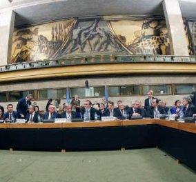 Με ένταση έκλεισε η Διάσκεψη για το Κυπριακό -  H σκυτάλη τώρα στους τεχνοκράτες στις 18 Ιανουαρίου  - Κυρίως Φωτογραφία - Gallery - Video