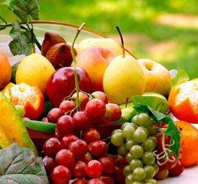 Δέκα μερίδες φρούτων και λαχανικών καθημερινά εξασφαλίζουν μακροζωία - Κυρίως Φωτογραφία - Gallery - Video