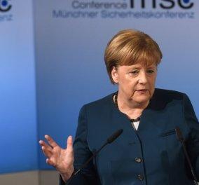 «Πρόβλημα» με την αξία του ευρώ «βλέπει» η Γερμανίδα καγκελάριος Άγκελα Μέρκελ - Κυρίως Φωτογραφία - Gallery - Video