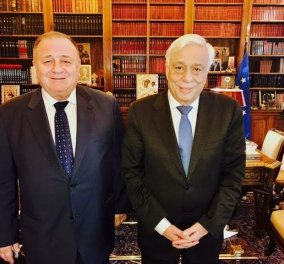Ο Πρόεδρος της Δημοκρατίας ενδιαφέρθηκε για τους Έλληνες της Ουκρανίας - Κυρίως Φωτογραφία - Gallery - Video