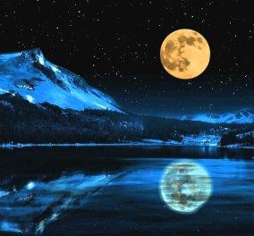Απόψε ο ουρανός παρουσιάζει υπερπαραγωγή: Πανσέληνος, έκλειψη σελήνης και κομήτης!   - Κυρίως Φωτογραφία - Gallery - Video