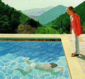 Sun Sea Sex στην πισίνα: Η έμπνευση στους πίνακες του μεγαλύτερου εν ζωή Βρετανού  ζωγράφου David Hockney    - Κυρίως Φωτογραφία - Gallery - Video