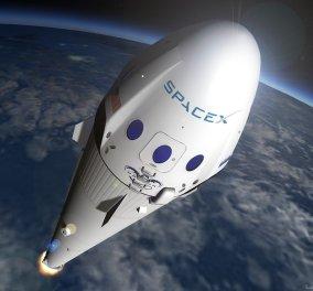 Η SpaceX θα στείλει τους πρώτους αστροτουρίστες γύρω από τη Σελήνη το 2018 - Κυρίως Φωτογραφία - Gallery - Video