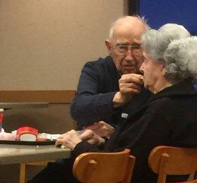 Love matters: 96χρονος ταΐζει την 93χρονη γυναίκα του με Αλτσχάιμερ & ο πλανήτης λιώνει - Φώτο - Κυρίως Φωτογραφία - Gallery - Video