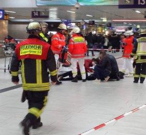 Βίντεο: 7 τραυματίες από την Επίθεση με τσεκούρι στον σταθμό τρένων του Ντίσελντορφ   - Κυρίως Φωτογραφία - Gallery - Video