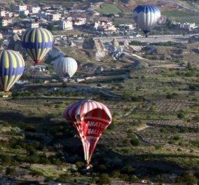Καπαδοκία: 49 τραυματίες από ανώμαλη προσγείωση τουριστικών αερόστατων - Κυρίως Φωτογραφία - Gallery - Video