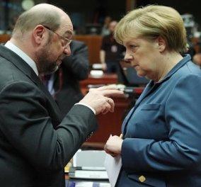 Νέα δημοσκόπηση στέφει πάλι βασίλισσα την Μερκελ: Το 46% των Γερμανών την θέλει στην Καγκελαρία -Το 38% προτιμά Σουλτς  - Κυρίως Φωτογραφία - Gallery - Video