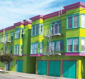 Απίθανα σπίτια που μοιάζουν με ζαχαρωτά στο Σαν Φρανσίσκο - Μυρίζουν Άνοιξη & θα σας μαγέψουν  - Κυρίως Φωτογραφία - Gallery - Video