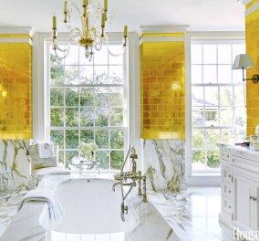135 φωτογραφίες για να μετατρέψετε το μπάνιο σας σε ιδιωτικό Spa - Χρώματα, στυλ & τόλμη για να γίνει το όνειρο - Κυρίως Φωτογραφία - Gallery - Video