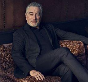 Ο Ρόμπερτ ντε Νίρο στα 70 του μοντέλο για την διάσημη μάρκα ανδρικών κουστουμιών Ermeneglido Zegna -Φώτο & Βίντεο - Κυρίως Φωτογραφία - Gallery - Video