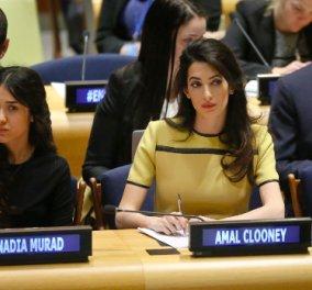Αμάλ Αλαμουντίν: Έτοιμη για τον Λευκό Οίκο; Η υπέρκομψη έγκυος και αγωνίστρια μέσα στον ΟΗΕ  - Κυρίως Φωτογραφία - Gallery - Video