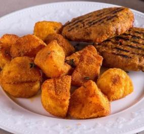 Εύκολες πατάτες ψητές στον φούρνο από τον Άκη Πετρετζίκη - Κυρίως Φωτογραφία - Gallery - Video