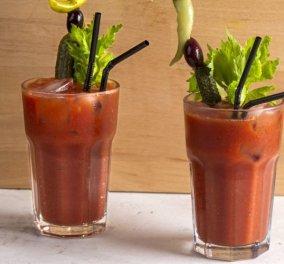 Αντιοξειδωτικό Bloody Mary: Με χυμό ντομάτας, λεμόνι, τζίντζερ από τον Άκη Πετρετζίκη  - Κυρίως Φωτογραφία - Gallery - Video