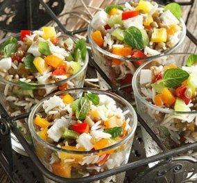 Ο Άκης Πετρετζίκης μας προτείνει μια εξαιρετική σαλάτα με φακές φούρνου - Κυρίως Φωτογραφία - Gallery - Video