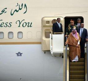 Όταν ταξιδεύεις σαν βασιλιάς: Με 460 τόνους αποσκευές έφτασε στην Ινδονησία ο Σαουδάραβας μονάρχης - Κυρίως Φωτογραφία - Gallery - Video