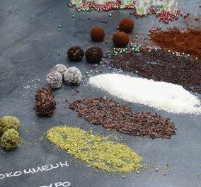 Το κάτι άλλο, αυτή η συνταγή για εύκολα τρουφάκια σε 15' από την εξπέρ Αργυρώ Μπαρμπαρήγου - Κυρίως Φωτογραφία - Gallery - Video