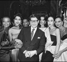 Vintage pics: Ο Yves Saint Laurent με τις γυναίκες που αποθέωσε - Όχι η καρικατούρα & το παιχνίδι με την ανορεξία του σήμερα  - Κυρίως Φωτογραφία - Gallery - Video