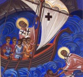 Η Ραλλού Λιόλιου-Κούση παρουσιάζει τις υπέροχες βυζαντινές της εικόνες με χρώμα και φως - Φώτο - Κυρίως Φωτογραφία - Gallery - Video