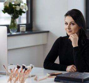 Made in Greece η Ζωή Μπόικου & τα Zoeva της: Πουλάει τα πινέλα της σε όλο τον κόσμο και γίνεται πολυεκατομμυριούχος - Κυρίως Φωτογραφία - Gallery - Video