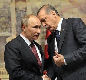 Τηλεφωνική επικοινωνία Πούτιν- Ερντογάν για τη Συρία μετά το χτύπημα - Κυρίως Φωτογραφία - Gallery - Video