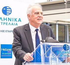 Ομιλία Προέδρου του Ομίλου ΕΛΛΗΝΙΚΑ ΠΕΤΡΕΛΑΙΑ κ. Ευστάθιου Τσοτσορού,  στο Συνέδριο Πωλήσεων ΕΚΟ ΑΒΕΕ – 2017 - Κυρίως Φωτογραφία - Gallery - Video