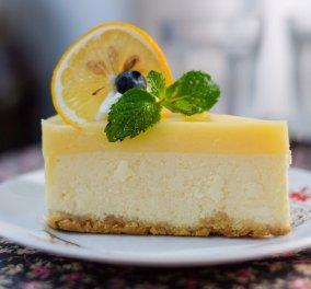 Cheesecake με λεμόνι χωρίς γλουτένη – Θα το απολαύσετε μετά το Πασχαλινό γεύμα - Συνταγή του Έκτορα Μποτρίνι - Κυρίως Φωτογραφία - Gallery - Video