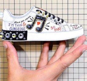 Τι έγραφε ένα παπούτσι D&G που ξεσήκωσε σάλο - Πληρωμένη απάντηση έδωσε ο Stefano Gabbana (Φωτό) - Κυρίως Φωτογραφία - Gallery - Video