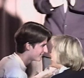 Από το πρώτο φιλί του 15χρονου Μακρόν στην κατά 25 χρόνια μεγαλύτερη καθηγήτρια στο φιλί της εξουσίας μαζί - Κυρίως Φωτογραφία - Gallery - Video