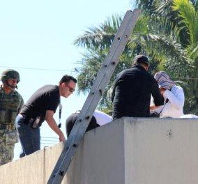"""Μεξικό: Μαφιόζοι έριξαν άντρα από το αεροπλάνο - """"Προσγειώθηκε"""" στην οροφή νοσοκομείου - Κυρίως Φωτογραφία - Gallery - Video"""