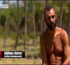Survivor: Ο Λάμπρος Χούτος αποχώρησε με πρόταση του Μπο και της Λάουρας  - Κυρίως Φωτογραφία - Gallery - Video