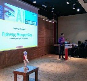 Βίντεο: Καλημέρα Ερμή, Καλημέρα Γιάννη -Το εντυπωσιακό Made in Greece ρομπότ του Πολυτεχνείου Κρήτης/ Φανταστικός διάλογος! - Κυρίως Φωτογραφία - Gallery - Video